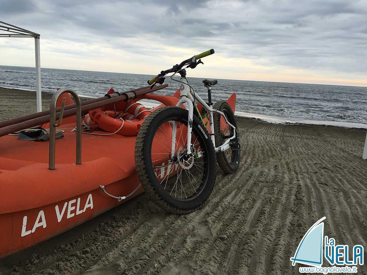 Noleggio Mtb e Fat Bike spiaggia Versilia