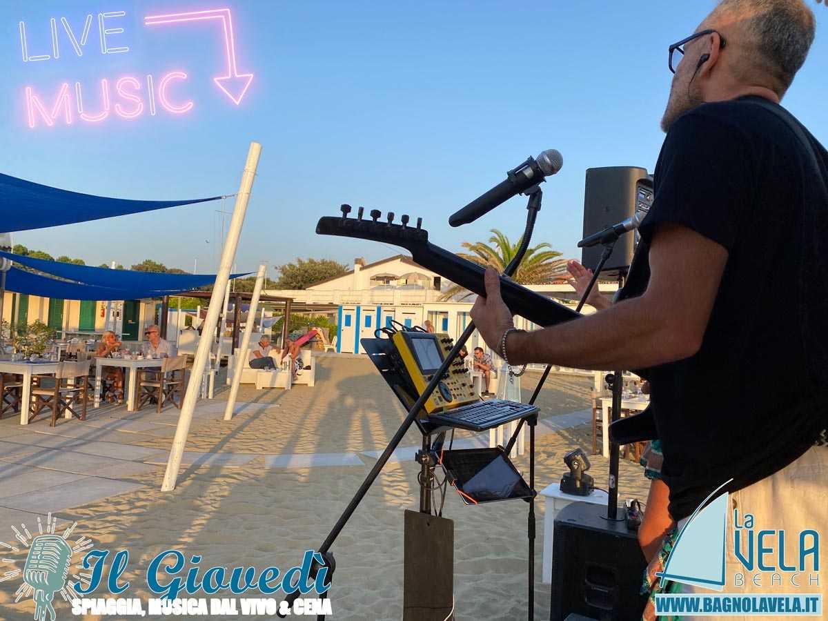 musica live versilia spiaggia vivo